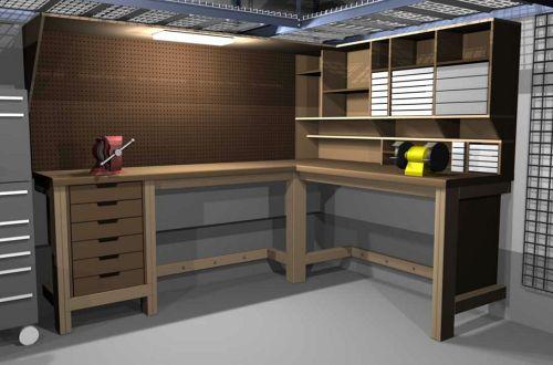 Good Ideas About Garage Workbench No 9