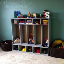 IKEA Hack Room Toy Storage