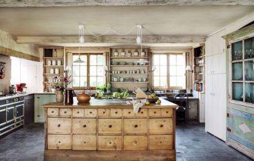 Interior Design Farmhouse Style Kitchens