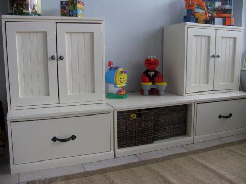 Kids Toy Room Storage Design