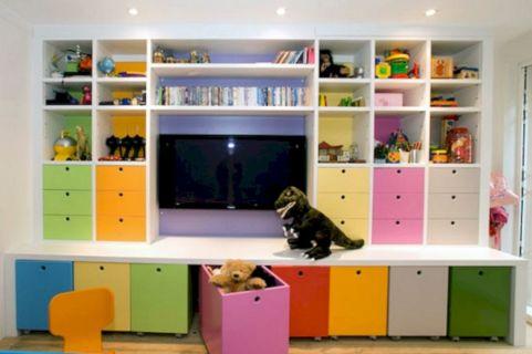 Kids Toys Storage Playroom Ideas