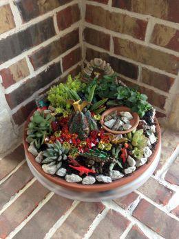 Make A Miniature Dinosaur In Garden 9