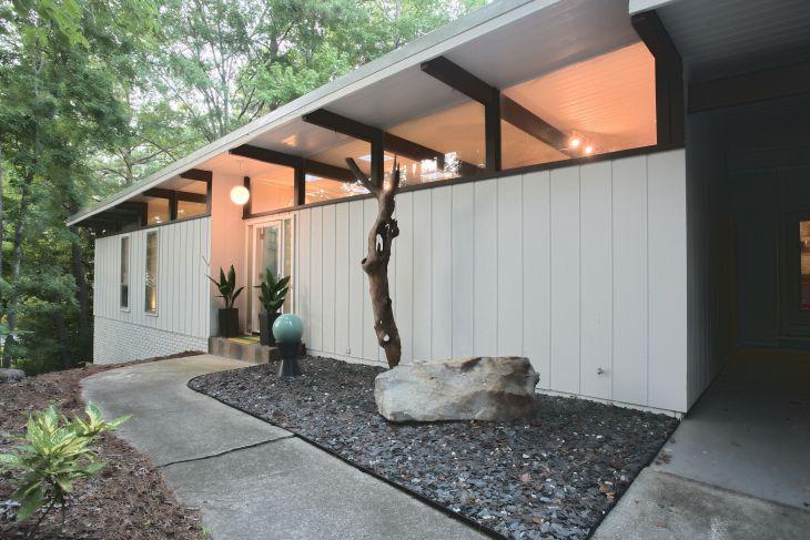 Mid Century Home Exterior