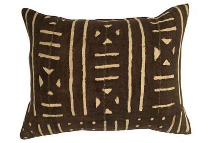 African Mud Cloth Pillows