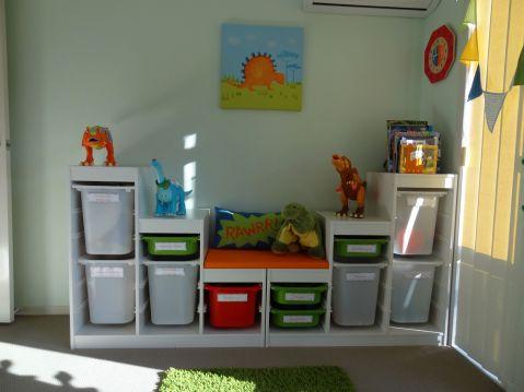 Boys Room Dinosaur Theme Bedroom Idea