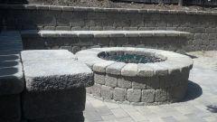Cinder Block Fire Pit Bench Ideas