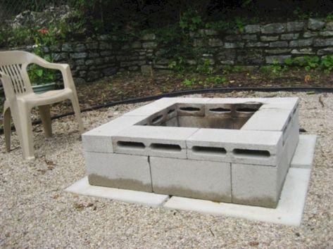 Cinder Block Fire Pit
