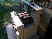 DIY Cinder Block Grill