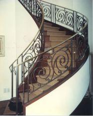 Decorative Metal Stairway Gates