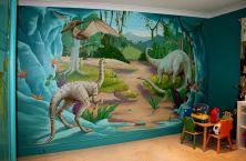 Dinosaur Wall Mural Bedrooms