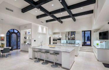 Double Island Kitchen Design Idea