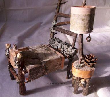Fairy Furniture Wood