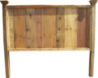 Knotty Pine Headboard King Size
