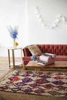 Layered Rug Living Room