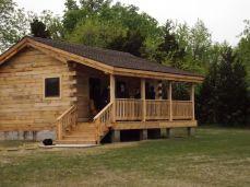 Log Hunting Cabin Kit