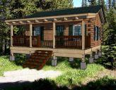Log Hunting Cabin Kits