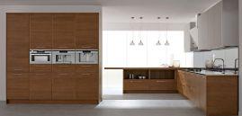 Modern White Wood Kitchen Cabinet Idea