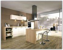 Modern White Wood Kitchen Cabinet
