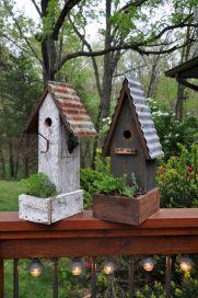 Most Popular Birdhouses Rustic in Your Garden 17