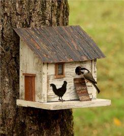 Most Popular Birdhouses Rustic in Your Garden 30