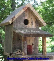 Most Popular Birdhouses Rustic in Your Garden 35