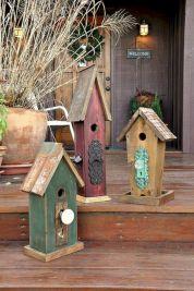 Most Popular Birdhouses Rustic in Your Garden 37