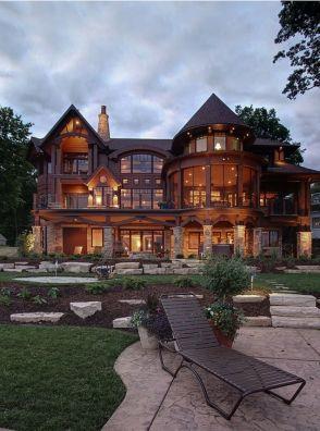 My Dream House with Big Windows