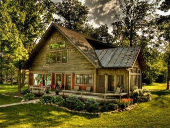 Photos of Rustic Log Home Exteriors