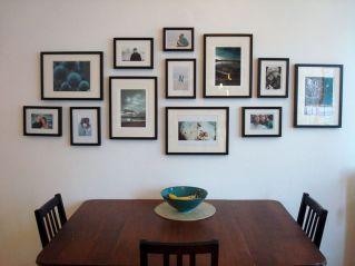 Picture Frame Arrangements Wall Ideas