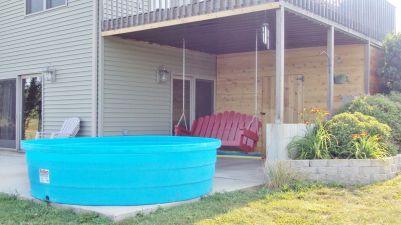 Poly Stock Tank Swimming Pool Ideas
