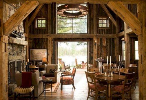 Rustic Barn Wood Home Interior