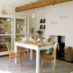 Rustic Coastal Dining Room