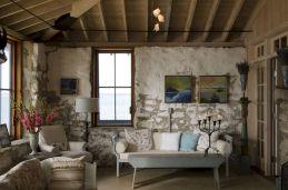 Rustic Cottage Living Room Idea
