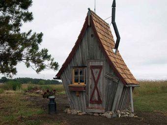 Rustic Way Whimsical Houses