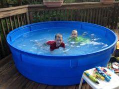 Safe Plastic Material Stock Tank Pool