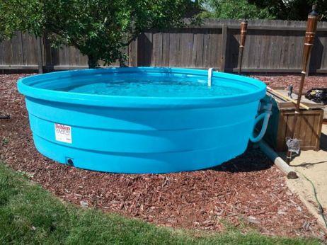 Simple Plasctic Stock Tank Pool