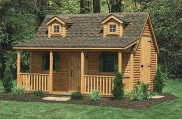 Small Backyard Cabin Plans