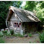 Small Rustic Log Cabin