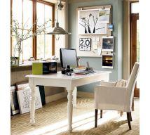 White Home Office Design Ideas