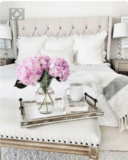 65 The Best Way to Beautify Your Bedroom Headboard 0029