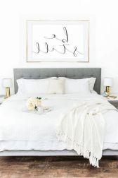65 The Best Way to Beautify Your Bedroom Headboard 0032