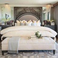 65 The Best Way to Beautify Your Bedroom Headboard 0058