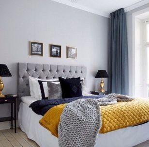 65 The Best Way to Beautify Your Bedroom Headboard 0060