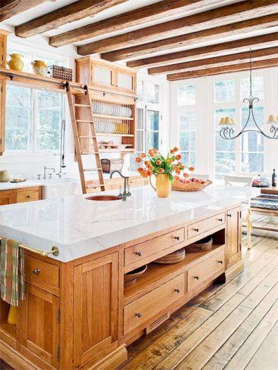 Amazing Farmhouse Kitchen Design And Decorations Ideas 0458