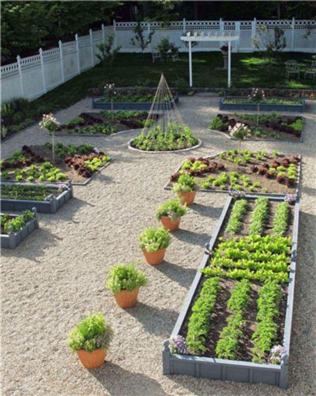 Backyard Vegetable Garden Design Ideas – DECOREDO