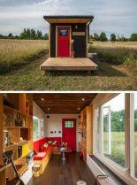 Best Small cabin designs ideas 11