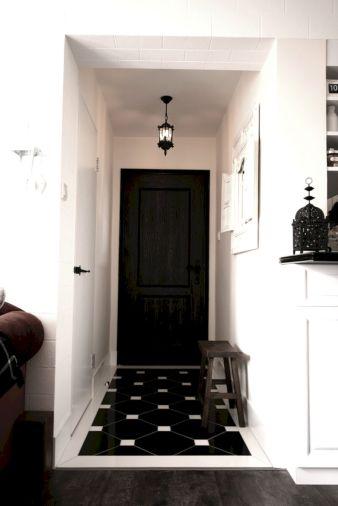 Black and White Foyer Ideas