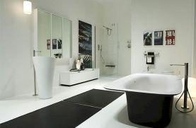 Black and White Modern Bathroom