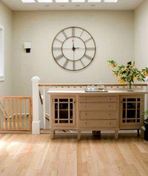 35+ Beautiful Living Room Wall Decor with Clocks Ideas ...