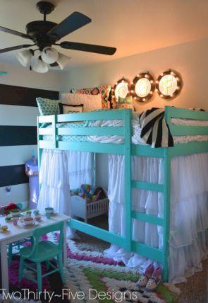 Cozy Bed Loft Ideas For Beloved Twin Kids 101